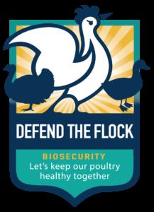 Defend the Flock logo.
