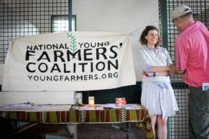 people at the national young farmers' coalition