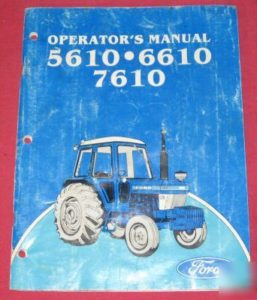 The Operators Manual has critical information that you need to have to keep your tractor running well.