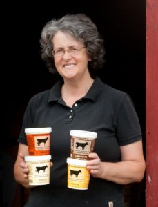 Cobb Hill Frozen Yogurt owner partner Jeannine Kilbride. Credit: Robert Eddy