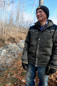 Sam Burr is owner and operator of Last Resort Farm in Monkton, Vermont, where he has worked with conservation partners to help stabilize soil erosion in an effort to protect and improve water quality.