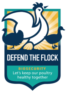"""Defend the Flock"" campaign logo"