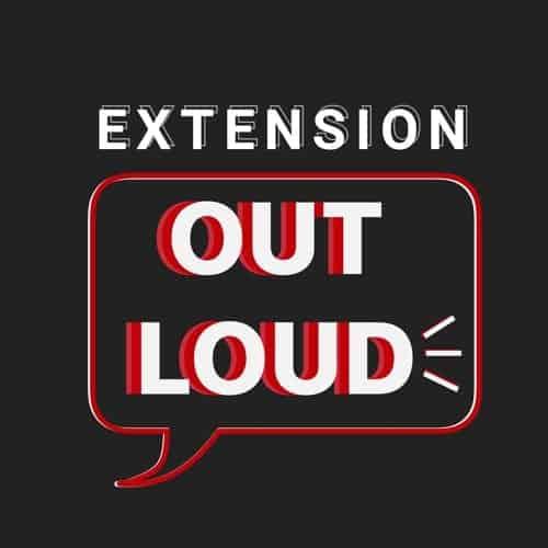Extension out Loud logo