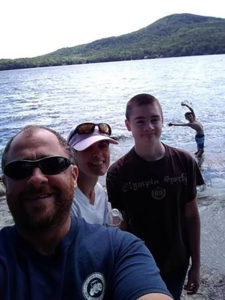 Marquis Family Farm selfie